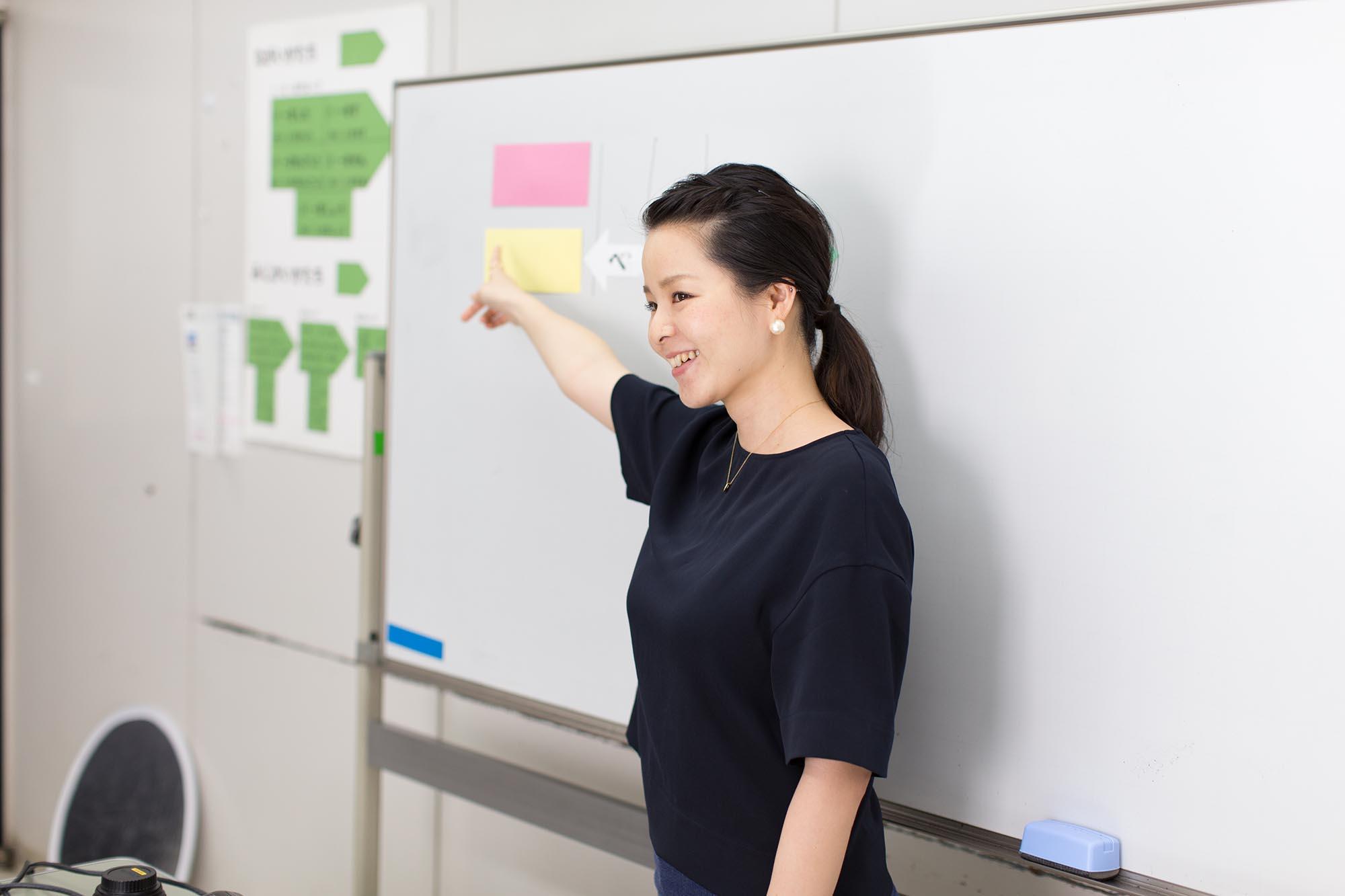 Un professeur de SNG utilisant les cartes de la méthode Ezoe